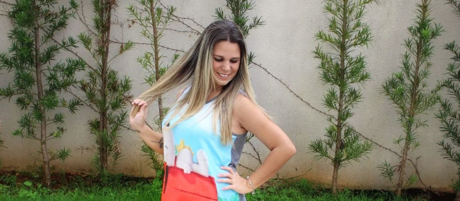 Look do Dia – Vestido do Snoopy