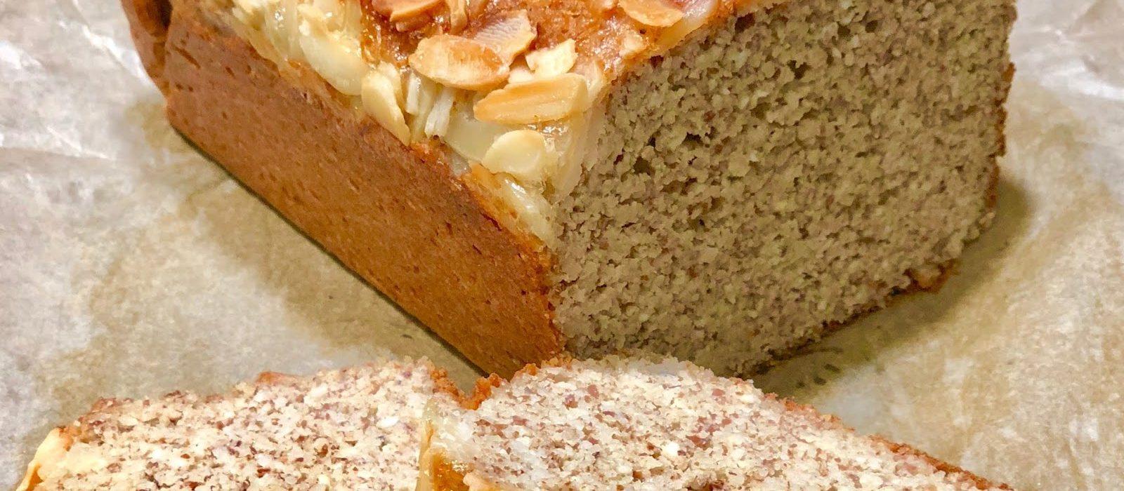 Pão Low Carb de Farinha de Amêndoas
